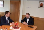 The Mayor met the Head of European Commission Representational Office in Lithuania
