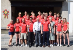 The Athletes of Panevėžys have been seen out to the International Children's Games