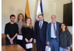 Mayor of Panevėžys City met with the Volunteers